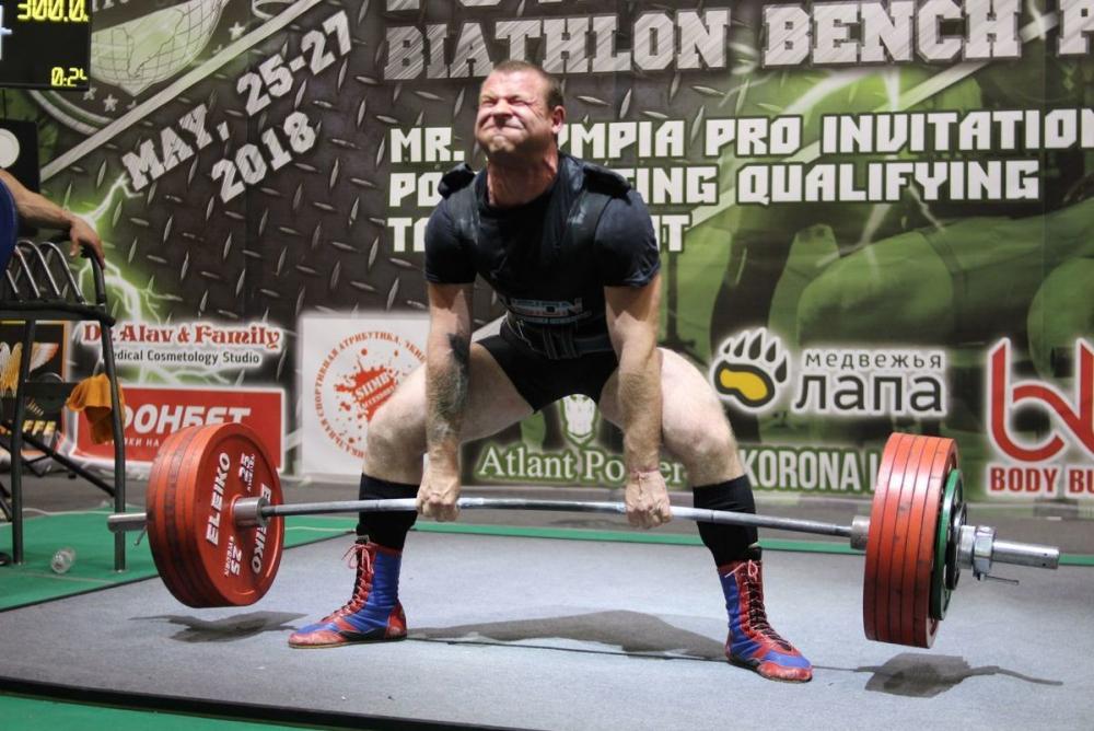 Анапчанин Николай Погорелый в числе призёров на Чемпионате Европы по пауэрлифтингу