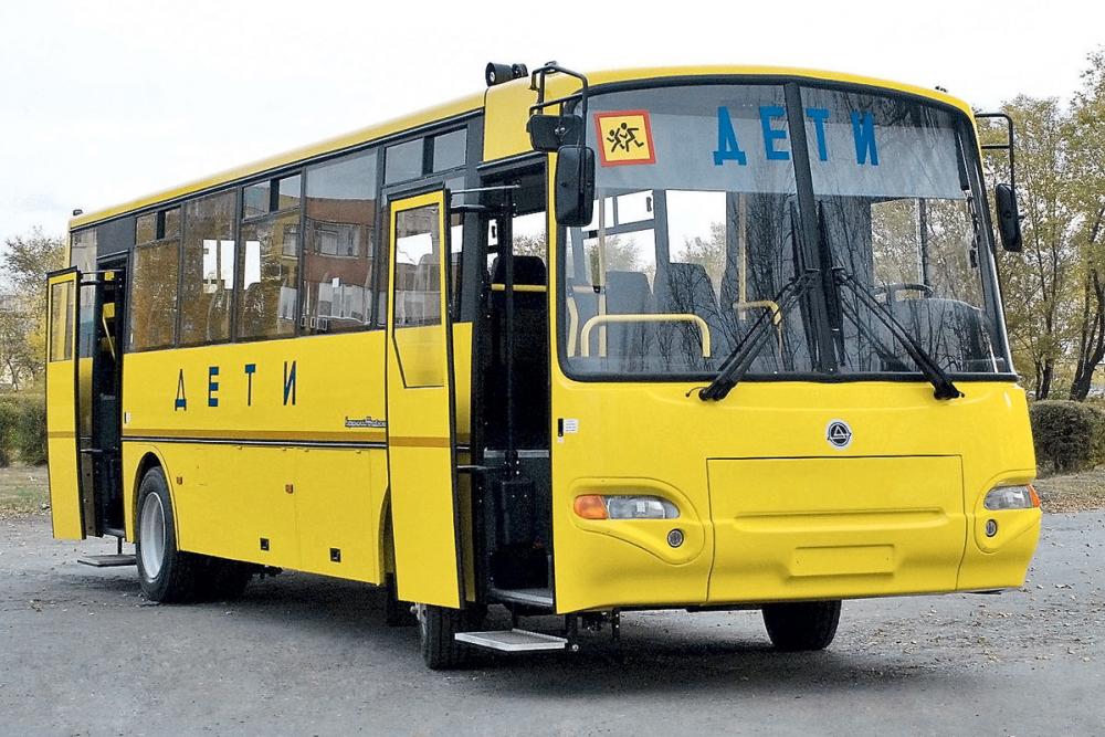 На жёлтых автобусах анапских школ в следующем году должны появиться мигалки