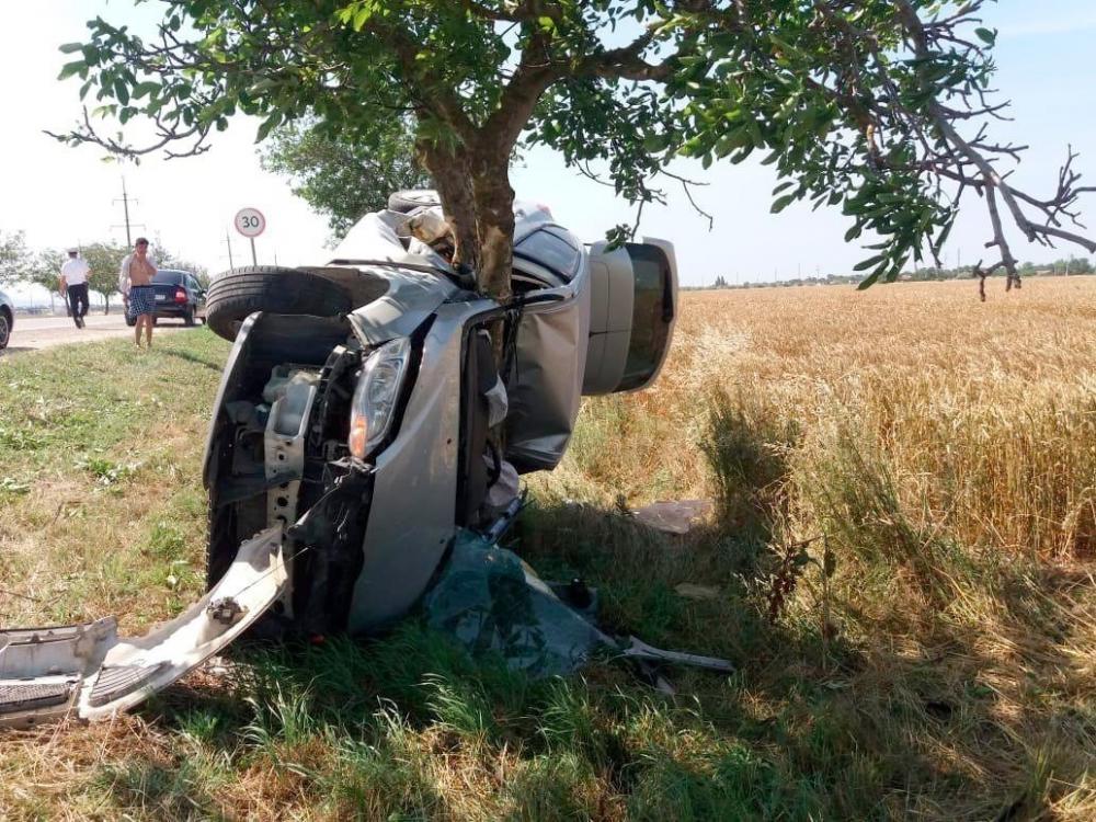 Недалеко от Анапы страшное ДТП: машина впечаталась в дерево, водитель погиб на месте