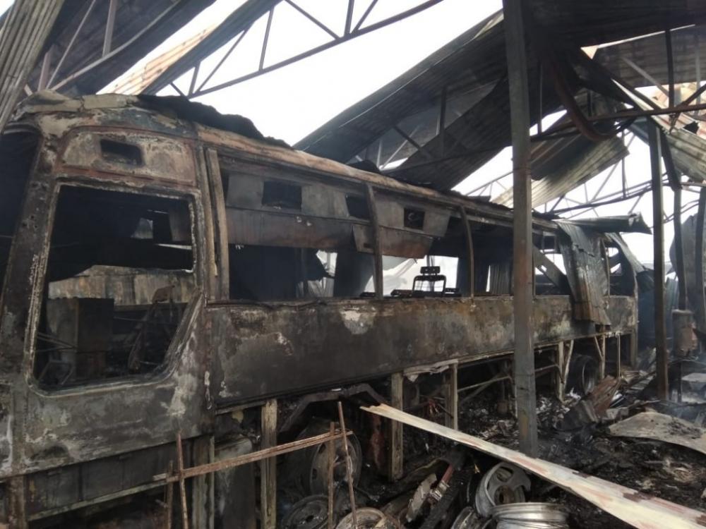 Пожар в Анапской, который нанёс ущерб в пять миллионов рублей, случился из-за неосторожности