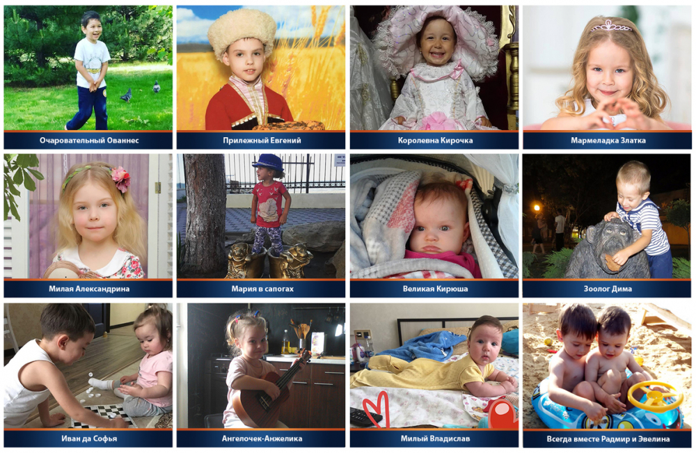 Участники конкурса «Детки-конфетки» часть 14