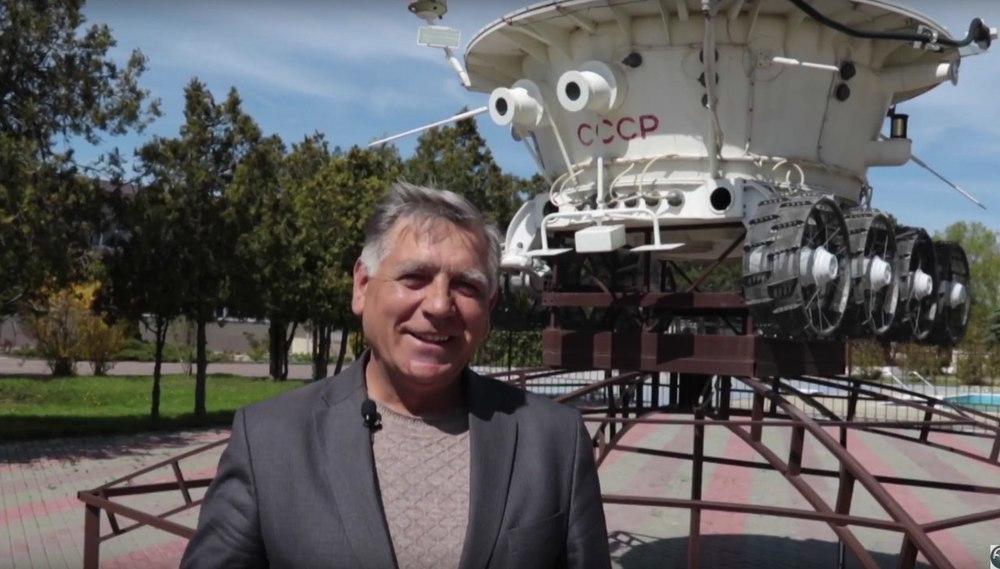 Анапе передали в дар космический аппарат «Луноход-1»