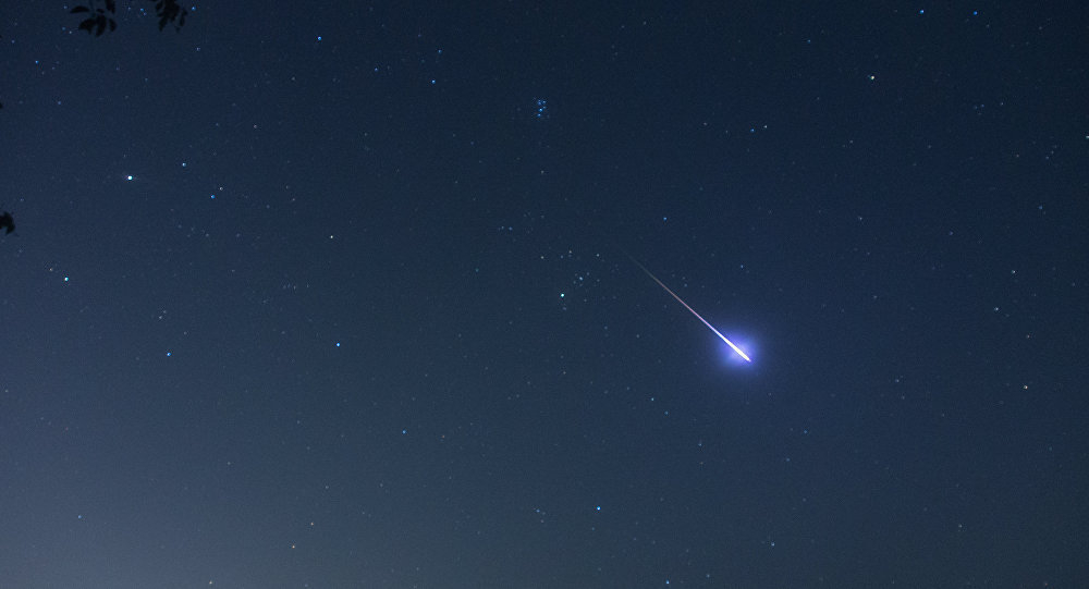 Почти две недели анапчане могут наблюдать за ярким звездопадом