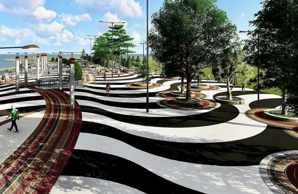 Анапчан просят высказать мнение по поводу проекта реконструкции Набережной