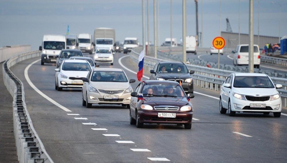 Анапчан приглашают отметить День России автопробегом по Крымскому мосту