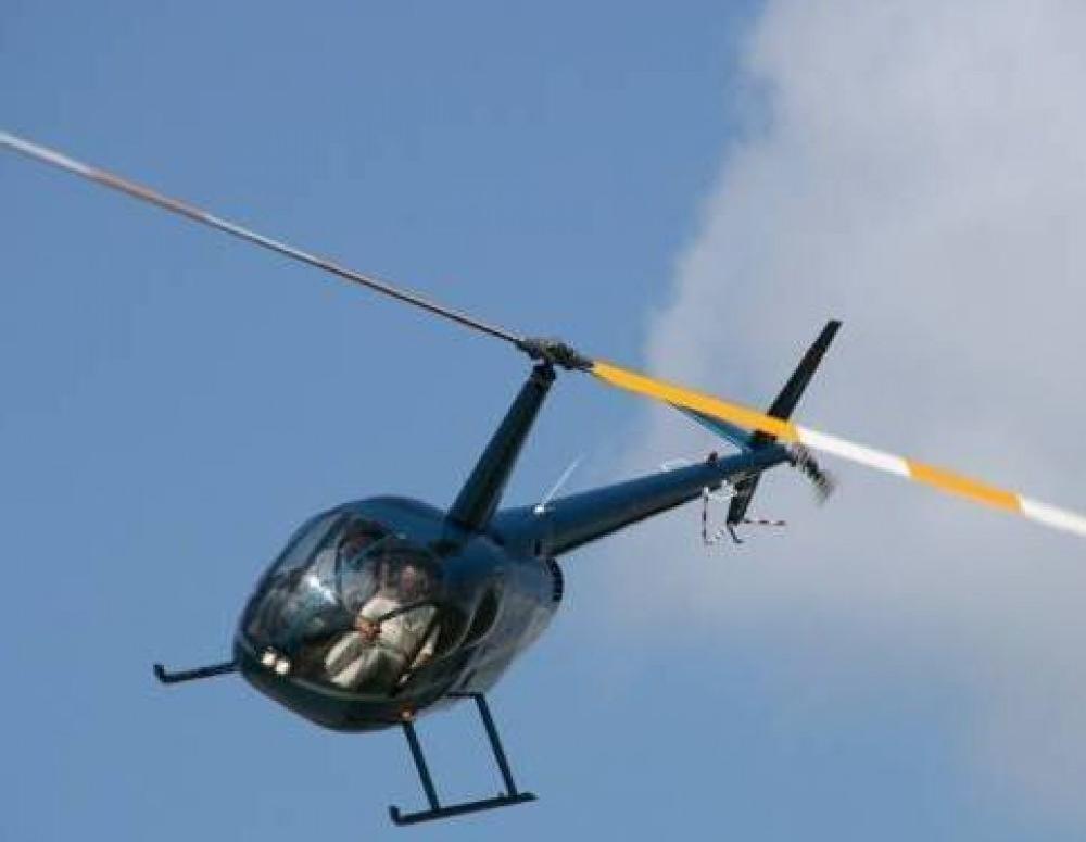 Упавший недалеко от Анапы вертолёт обнаружен. Опубликовано видео с места происшествия