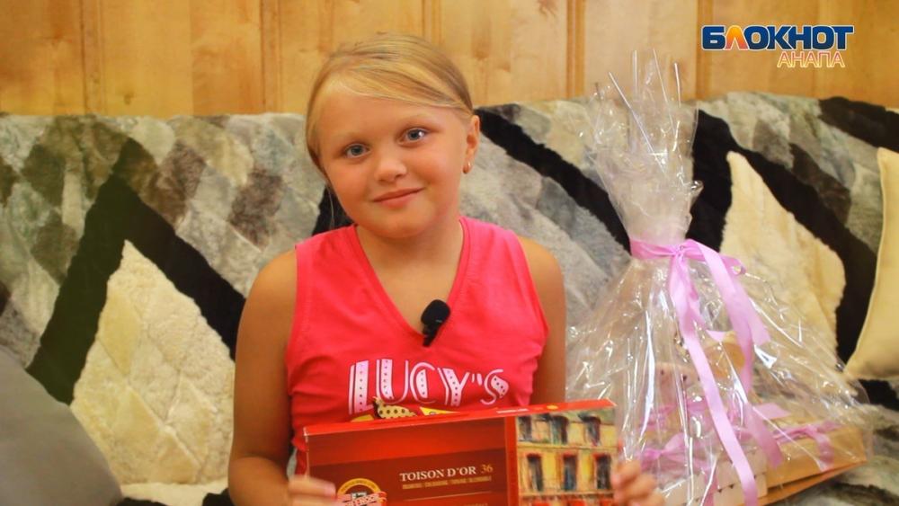 Чем маленькой Анюте Коростелёвой из Анапы обернулось участие в конкурсе «Город Мастеров»