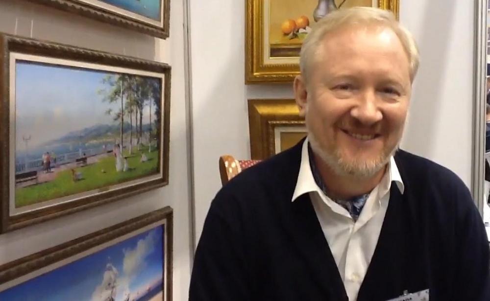 С картинами Анапского художника Дамира Кривенко знакомились Билл Клинтон и Папа Римский