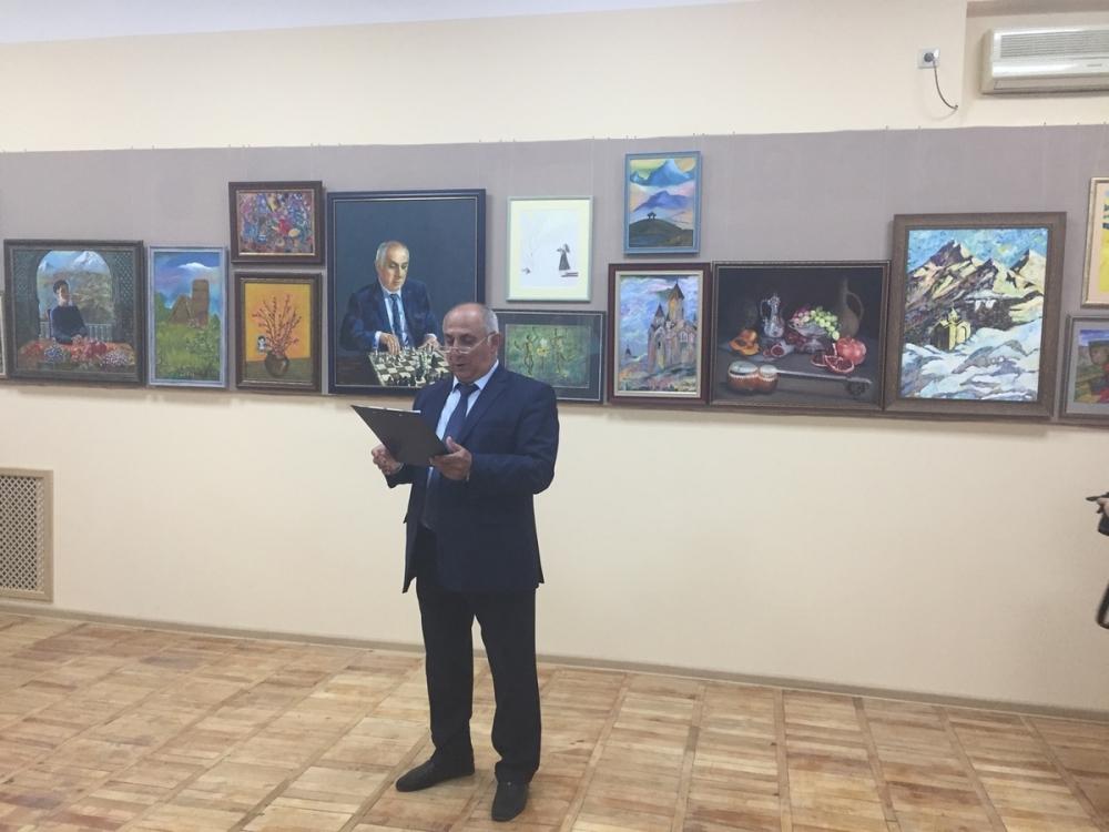 В Анапе открылась выставка в память о художнике Мартиросе Сарьяне