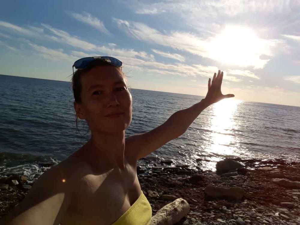 Новый участник конкурса «Селфи на курорте» —  Субботина Жанна
