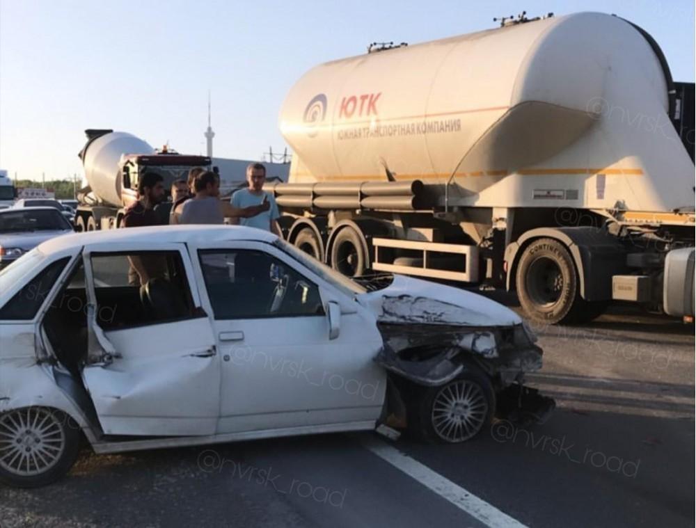 Пассажиров автобуса Анапа-Новороссийск спасло чудо, у машины на ходу отказали тормоза