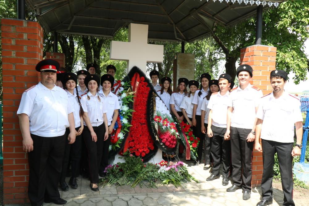 Анапские казаки почтили память тех, кто защищал станицы от горцев в 1810 году