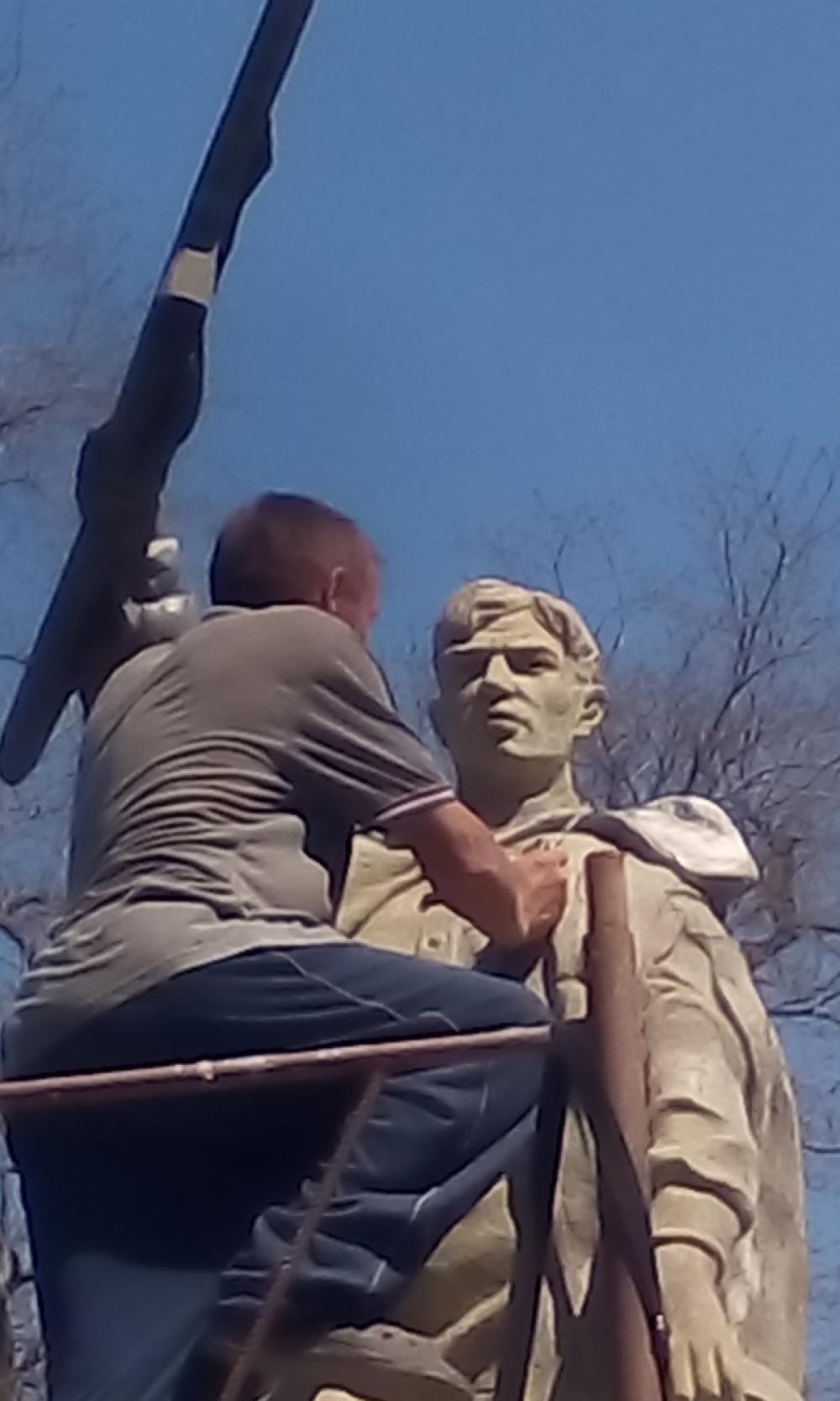 На Уташе под Анапой общественники отреставрировали памятник