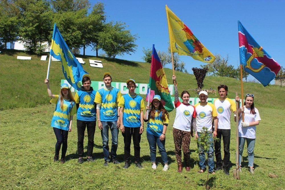 Анапские добровольцы поучаствовали в акции «Эко-поезд мира»
