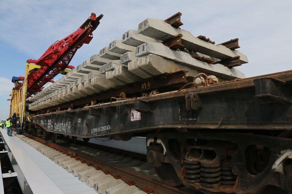 Уже скоро анапчане смогут поехать в Крым по новой современной железной дороге