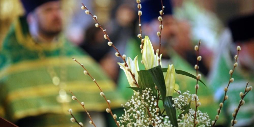 Анапчане празднуют Вербное воскресенье: традиции и приметы