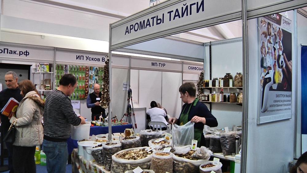Лесные ягоды, грибы и целебные травы: «Ароматы тайги» на выставке «Анапа — самое яркое солнце России»
