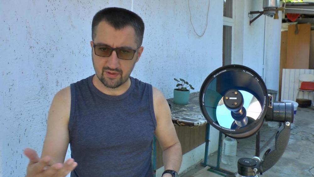 «Ничего необычного»: анапский астроном о лунном затмении