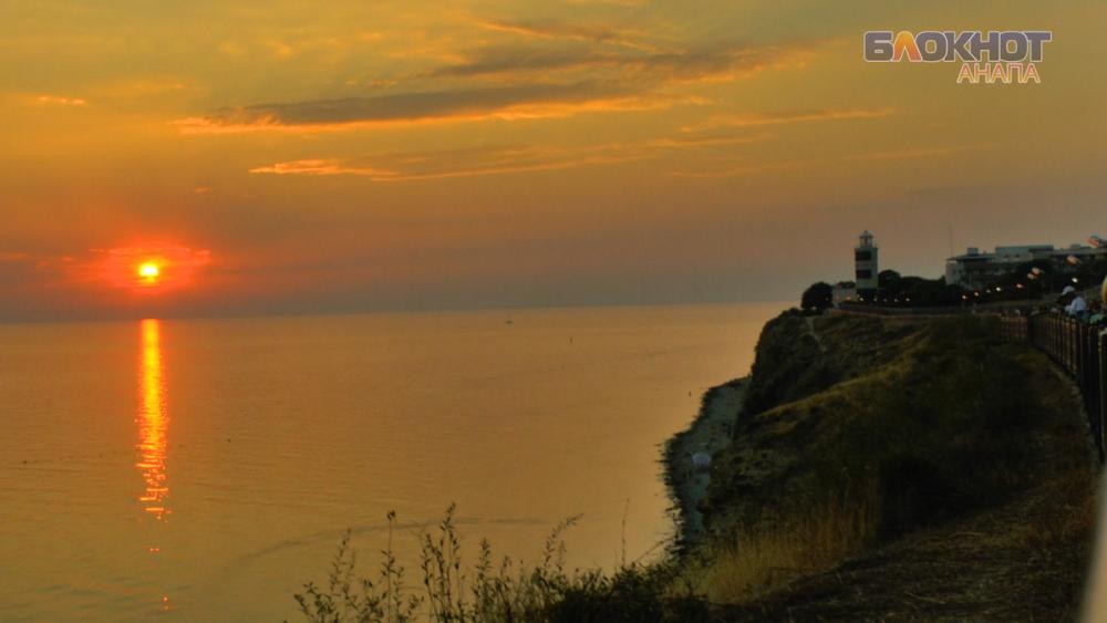 Видео: романтичные закат и рассвет в Анапе