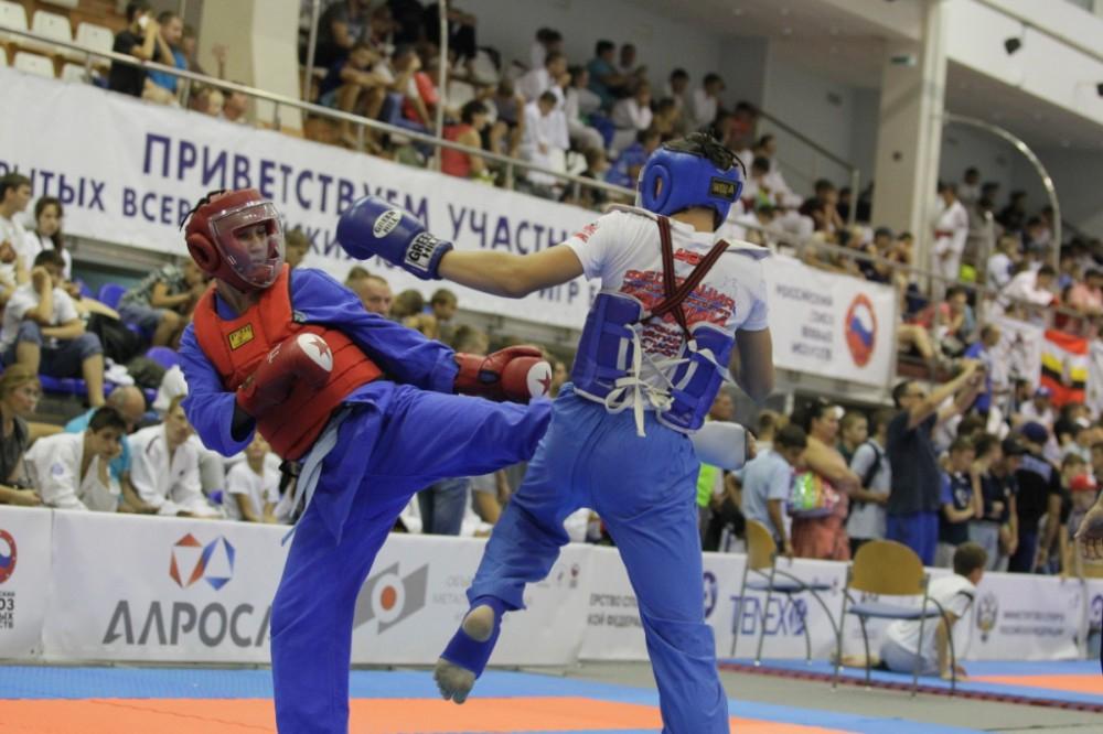 Всероссийские Игры боевых искусств стартовали в Анапе