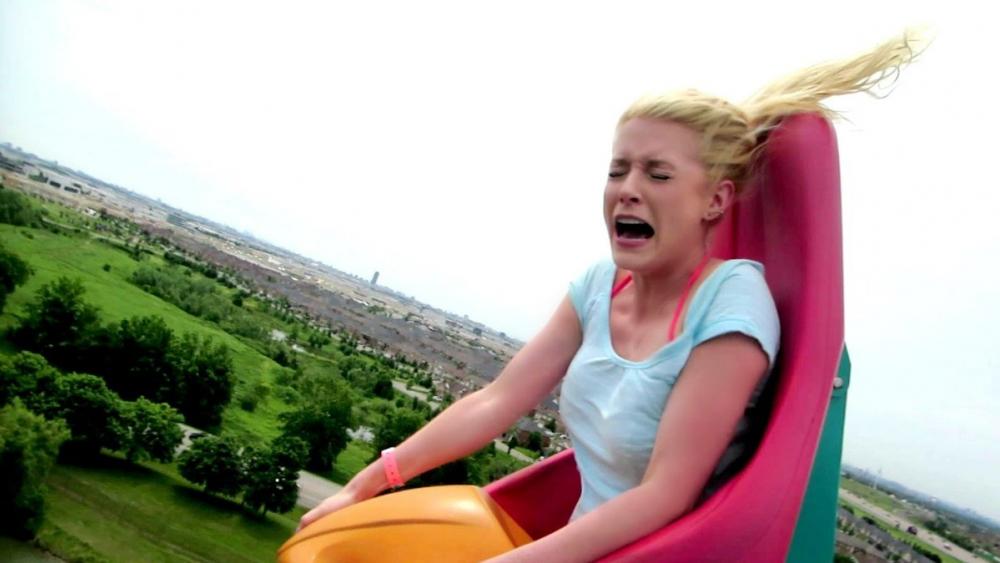 В анапском парке развлечений посетители в течение 15 минут были на волосок от смерти