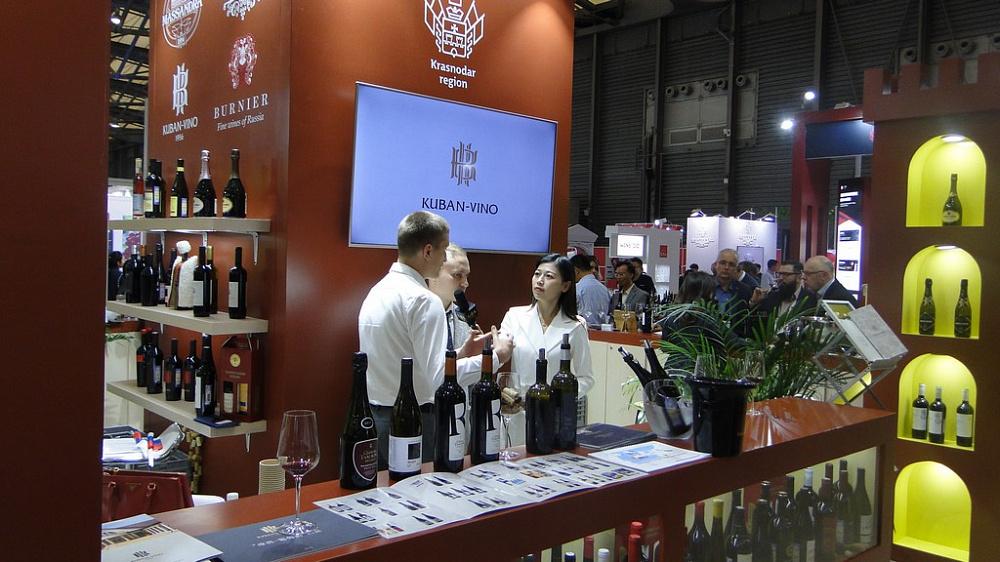 Вина Кубани впервые попали на престижную международную выставку в Китае