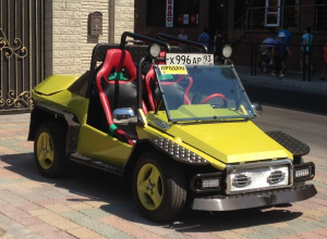 В Анапе продается чудо-кабриолет с сердцем Ваз 2106 и ходовой от жабчика