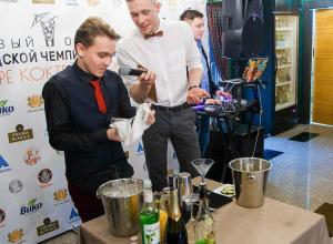 Пять минут на авторский коктейль: в Анапе прошел чемпионат среди барменов