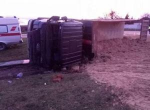 В Джигинке под Анапой произошла авария: погиб водитель грузовика