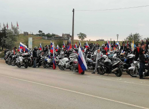 Анапские байкеры, прокатившись по Крымскому мосту, узнали, сколько будет стоить проезд