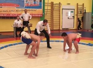 Сумоисты из Анапы выиграли серебро краевого первенства