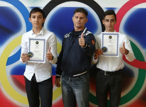 Анапским спортсменам в Москве вручили черные пояса кунг-фу