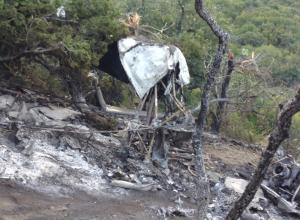 Упавший под Анапой вертолёт нанёс заповеднику ущерб в 44 миллиона рублей