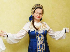 Казачьи песни для анапчан исполнит певица Надежда Струнка