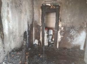 Стали известны подробности пожара в с.Су-Псехе Анапского района