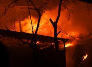 В Анапской сгорел заброшенный дом, ставший приютом для бомжей
