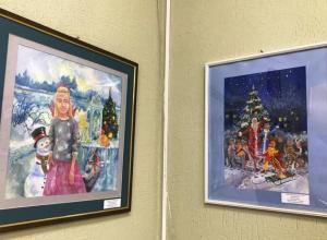 В Анапе открылась персональная выставка юных художников