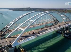 Официальная дата торжественного открытия Крымского моста 15 мая 2018 года