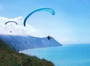 Как бесплатно полетать на параплане в Анапе?