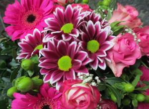 История флористики и составления букетов