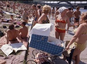В 1965 войти в море босиком на главном анапском пляже решались только самые отчаянные
