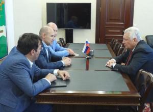 Перед началом сезона глава Анапы встретился с руководством  ТНС «Энерго Кубань»