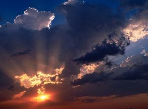 В последний день недели в Анапе ожидается переменная облачность