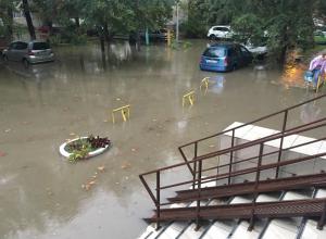 Что натворил в Анапе ночной проливной дождь