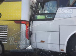 Четыре анапских автобуса с детьми из Украины столкнулись в Ростове