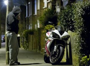 Подготовка к краже мотоцикла в Анапе попала на видео