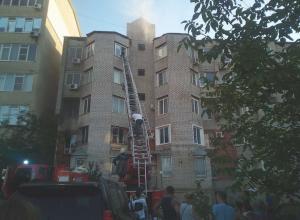 Прямо сейчас в Анапе горит квартира на ул. Ленина, 161-б, жильцов эвакуировали