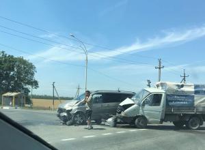 Вновь авария: выезд из с.Витязево на трассу требует светофора