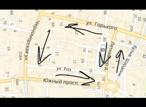 В анапском курортном поселке Витязево на трех улицах сделают одностороннее движение