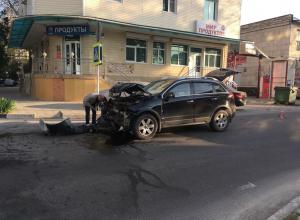 Владелец иномарки попал в ДТП в Анапе, не имея страховки на авто